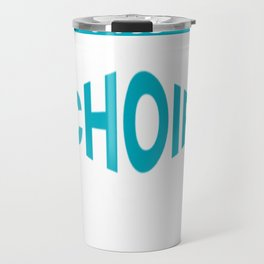 The Legendary choir Teacher Retirement Gift Design Travel Mug