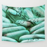pills Wall Tapestries featuring Pills by knol