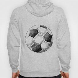 Football ball sketch Hoody