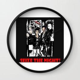 Seize the Night Alternative life style Wall Clock