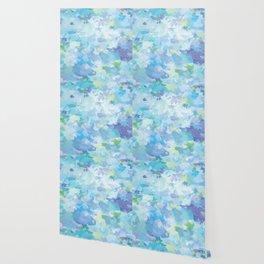 Color Splash: blue hydrangeas Wallpaper