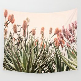 Cactus Blooms 2 Wall Tapestry