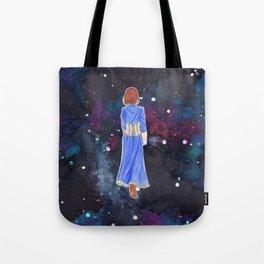 Elizabeth in space Tote Bag