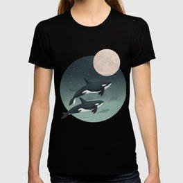 moonlight caravan // orcas T-shirt
