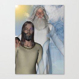 Holy Trinity Canvas Print
