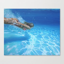 Sea pleasure Canvas Print