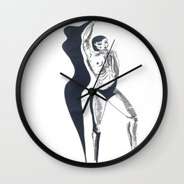 shadow attack two Wall Clock