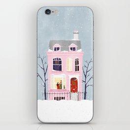 Xmas house iPhone Skin