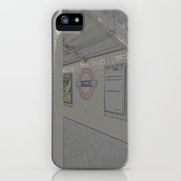 Temple station London 5 iPhone Case