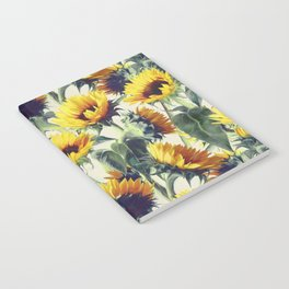 Sunflowers Forever Notebook