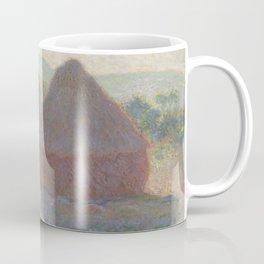 Meules, milieu du jour [Haystacks, midday] Coffee Mug