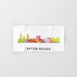 Baton Rouge Louisiana Skyline Hand & Bath Towel