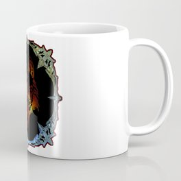 A Wolf Spirit Mirror Magic Miror Coffee Mug