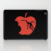death note iPad Cases featuring Death Note by bosphorus