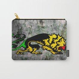 Grunge Reggae Music Lion Heraldic Art Carry-All Pouch