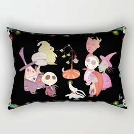 It's A Very Nightmare Before Christmas Jack Skellington! Rectangular Pillow
