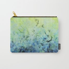 Amaranthine - Original Abstract Painting Carry-All Pouch