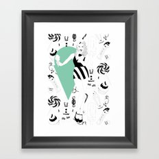 For the sweet tooth Framed Art Print