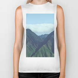 Vintage Mountains Biker Tank