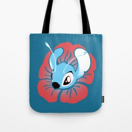 Flower Stitch Tote Bag