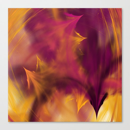 play with the fire Canvas Print