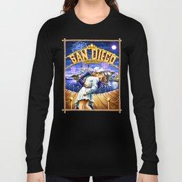 San Diego Kissing Sailor Long Sleeve T-shirt