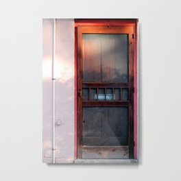 the doors Metal Print