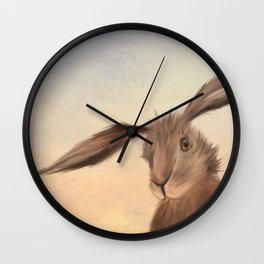 March Hare Wall Clock