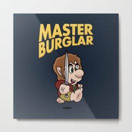 MASTER BURGLAR Metal Print
