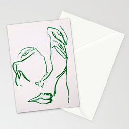 i need a pick me up Stationery Cards