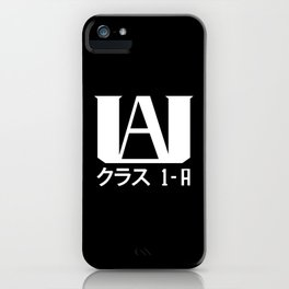 UA Academy 1-A (White) iPhone Case