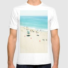 Longing Mens Fitted Tee White MEDIUM