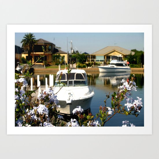 For the Rich & Famous - Paynesville Art Print