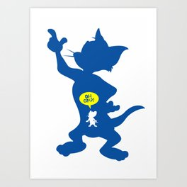 Tom & Jerry Art Print