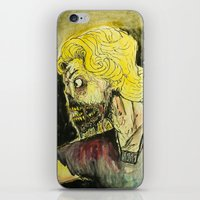 zombies iPhone & iPod Skins featuring zombies by Marcelo O. Maffei