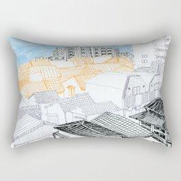 Tokyo landscape Rectangular Pillow