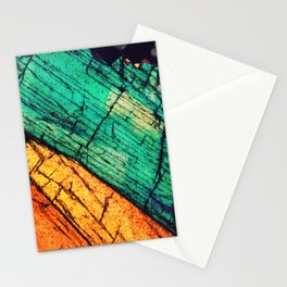 Epidote and Quartz Stationery Cards