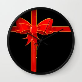 Wrapping Paper Wall Clock