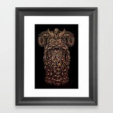 Viking Rabies Framed Art Print
