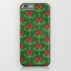Spring Roses Pattern Slim Case iPhone 6s