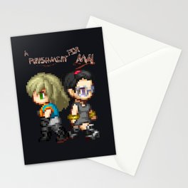 Mai and Lucy Pixel Stationery Cards