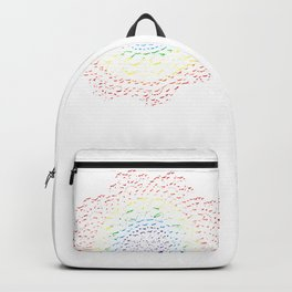 Rainbow lace Backpack