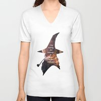 the hobbit V-neck T-shirts featuring The Hobbit by Ida Rotli