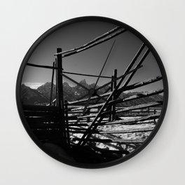 Teton Silence Wall Clock