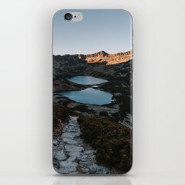 Mountain Ponds - Landscape and Nature Photography iPhone Skin