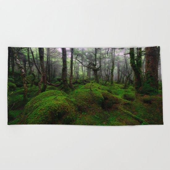 Enchanted forest mood III Beach Towel