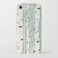 birch iPhone & iPod Cases featuring Birch by Marlene Pixley