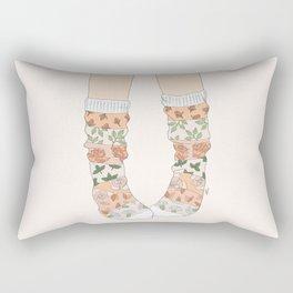 Spring Socks Rectangular Pillow