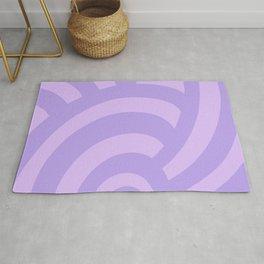 Modern Sea Shell - Lilac Rug