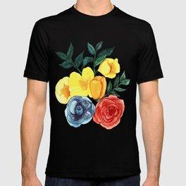 Watercolor Flower Bouquet T-shirt